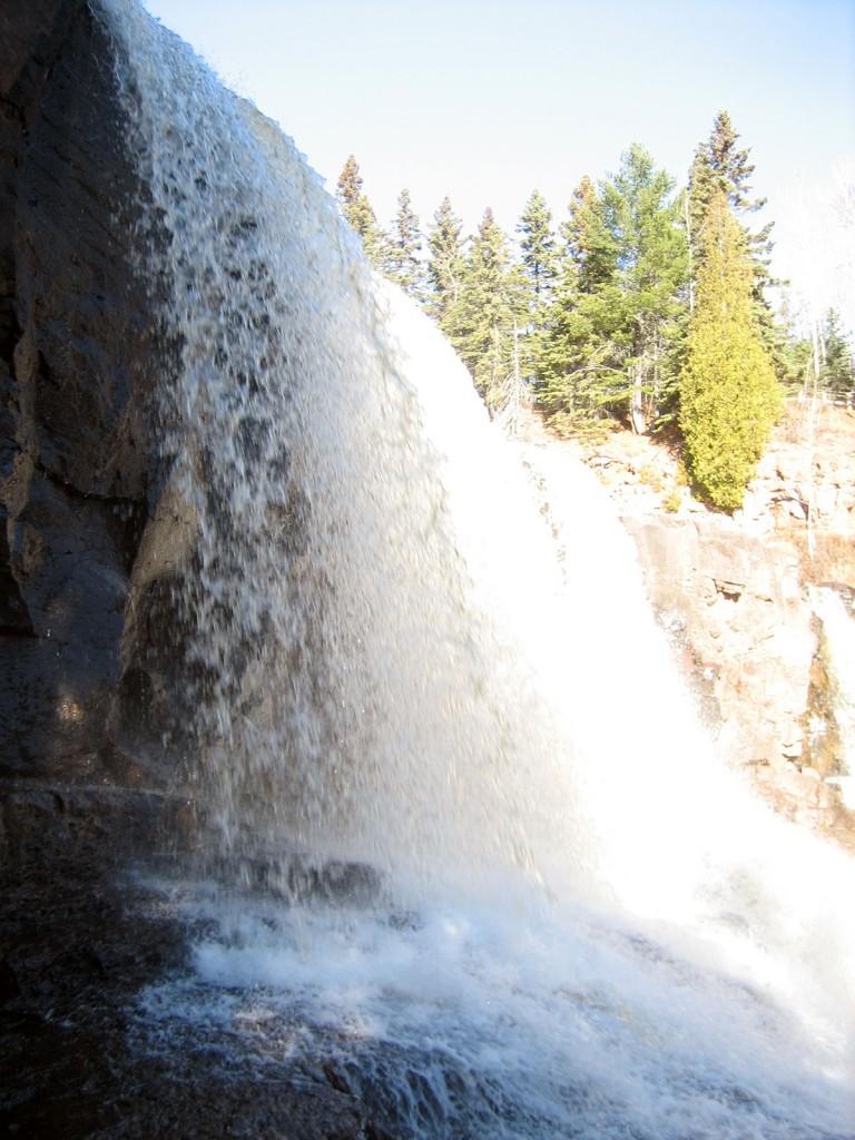 Gooseberry Falls Waterfalls Closeup