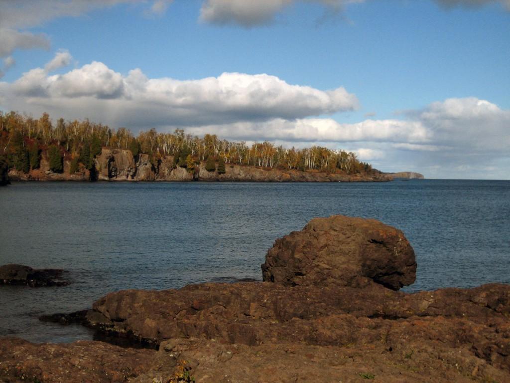 Gooseberry Falls Lake Shore