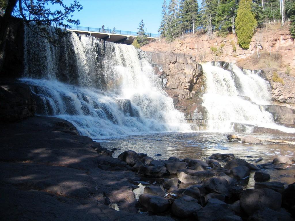 Gooseberry Falls Waterfalls