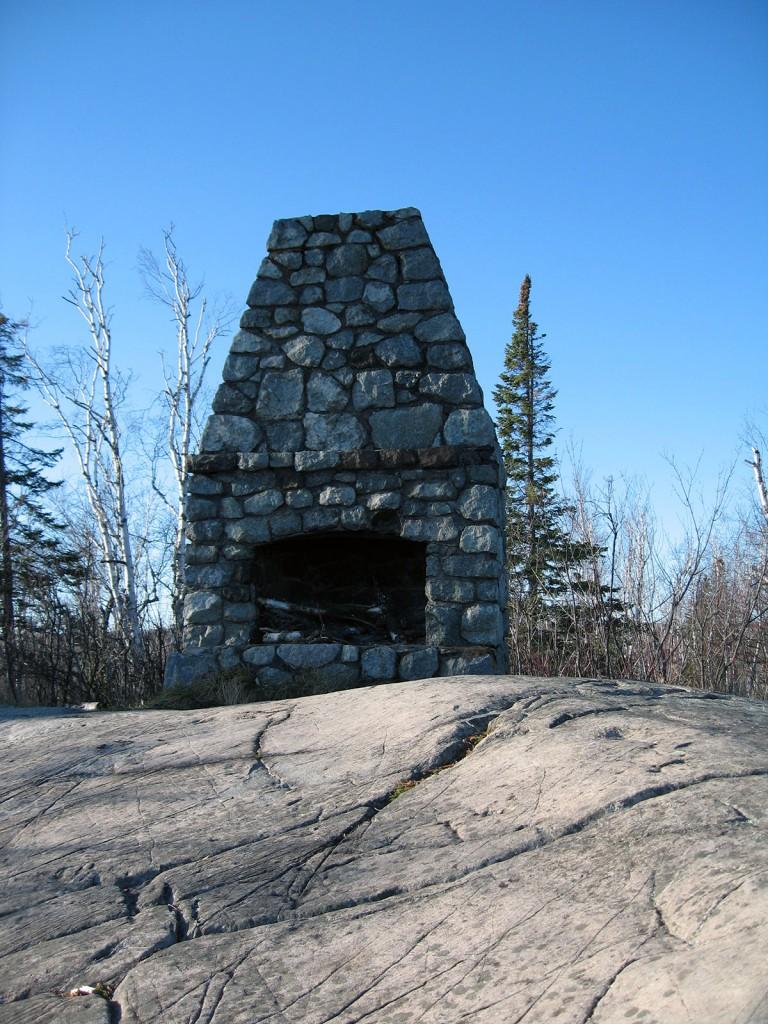 Fireplace at Split Rock Lighthouse